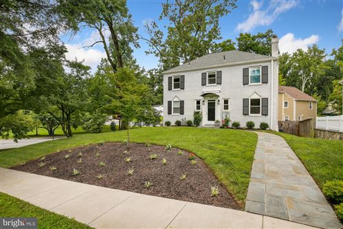Photo of 4105 BLACKTHORN ST, CHEVY CHASE, MD 20815 (MLS # MDMC718462)