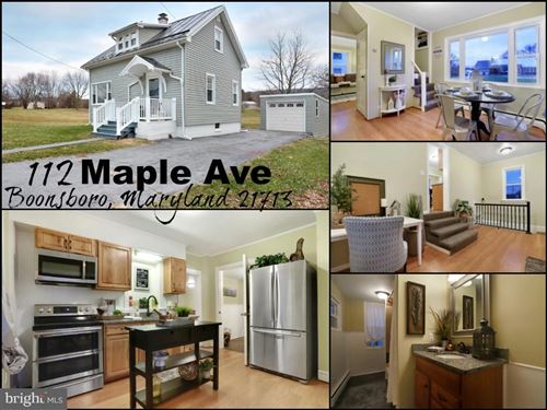 Photo of 112 MAPLE AVE, BOONSBORO, MD 21713 (MLS # MDWA169468)