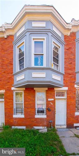 Photo of 1721 N LONGWOOD ST, BALTIMORE, MD 21216 (MLS # MDBA528498)