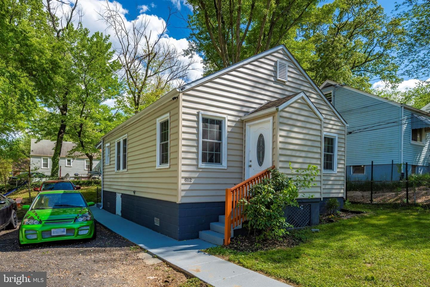Photo for 612 CLOVIS AVE, CAPITOL HEIGHTS, MD 20743 (MLS # MDPG605498)