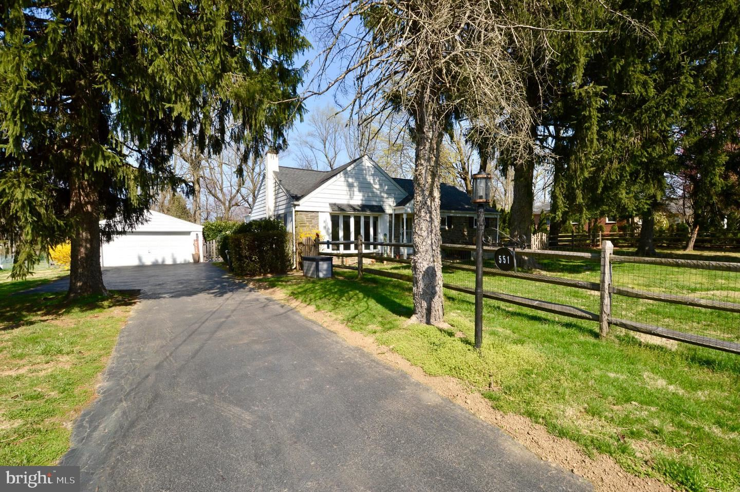 Photo for 551 BYBERRY RD, HUNTINGDON VALLEY, PA 19006 (MLS # PAMC688498)