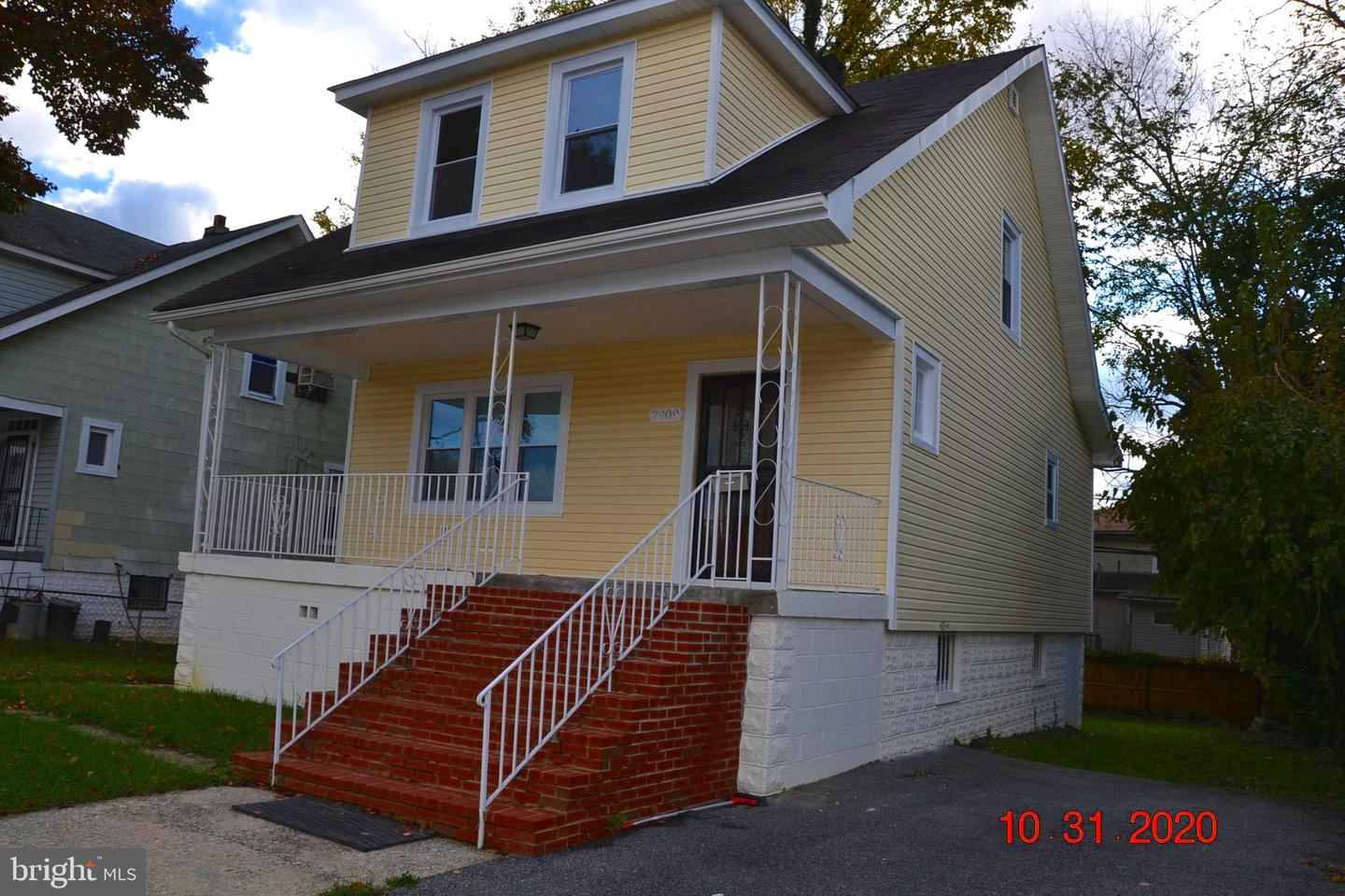 Photo for 2909 THORNDALE AVE, BALTIMORE, MD 21215 (MLS # MDBA529508)