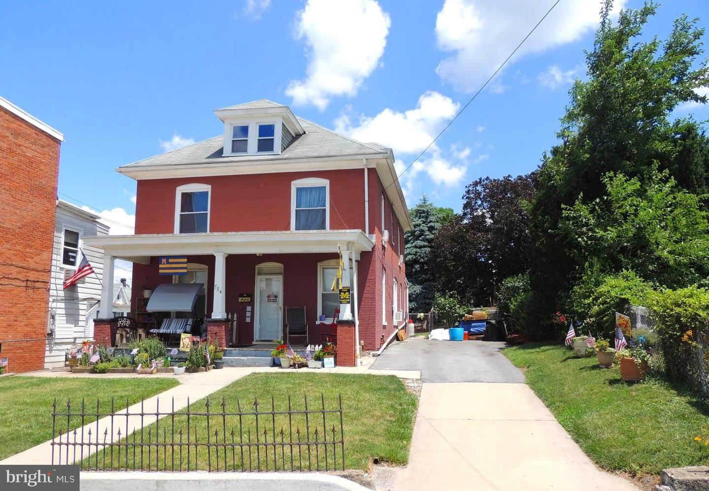 Photo of 734 FRANKLIN, HAGERSTOWN, MD 21740 (MLS # MDWA180534)