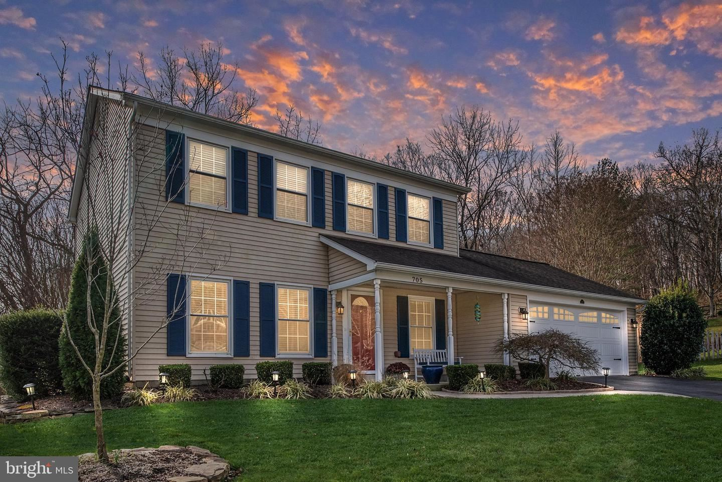 Photo of 705 COUNTRY CLUB DR SW, LEESBURG, VA 20175 (MLS # VALO426534)