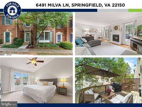 Photo of 6491 MILVA LN, SPRINGFIELD, VA 22150 (MLS # VAFX2013570)