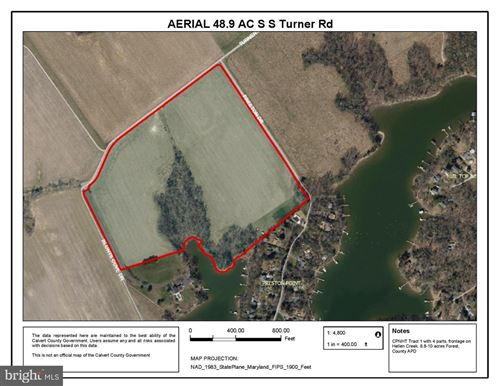 Photo of TRACT 1, 48.9 AC TURNER RD, LUSBY, MD 20657 (MLS # MDCA173592)