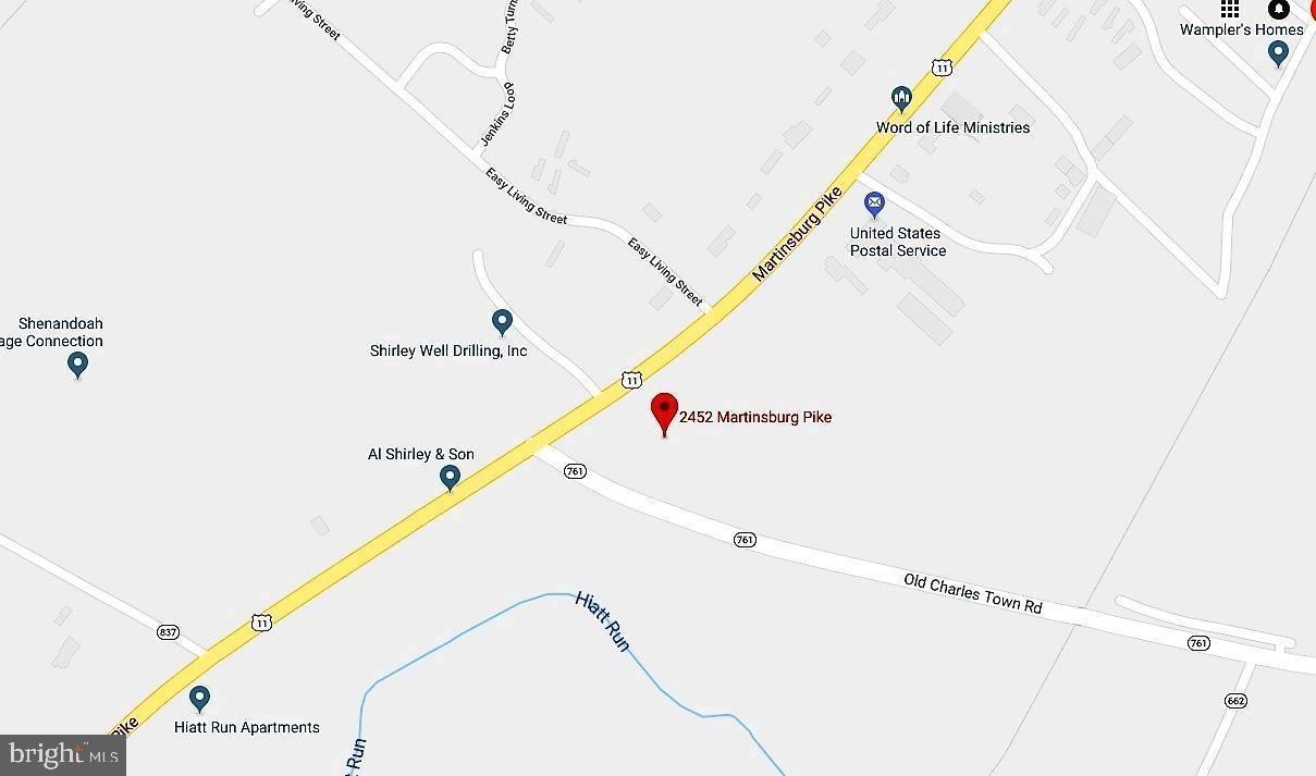 Photo of 2452 MARTINSBURG PIKE, STEPHENSON, VA 22656 (MLS # VAFV164594)
