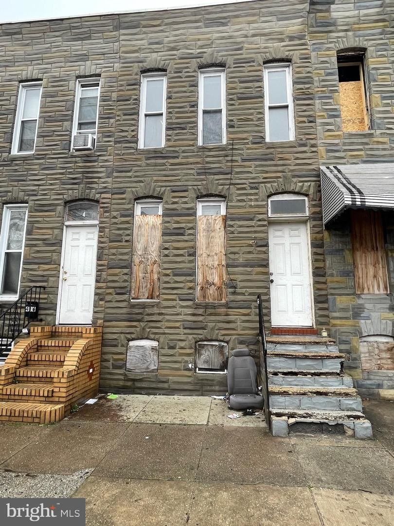 414 S SMALLWOOD ST, Baltimore, MD 21223 - MLS#: MDBA543598