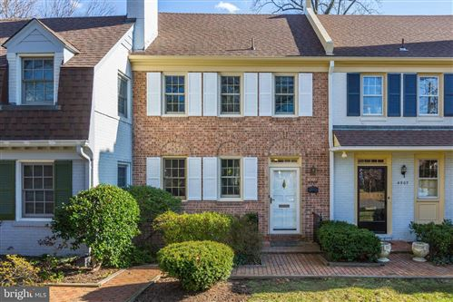 Photo of 4909 CRESCENT ST #A-3, BETHESDA, MD 20816 (MLS # MDMC692608)