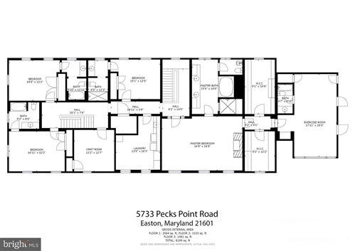 Tiny photo for 5733 PECKS POINT RD, EASTON, MD 21601 (MLS # MDTA140612)