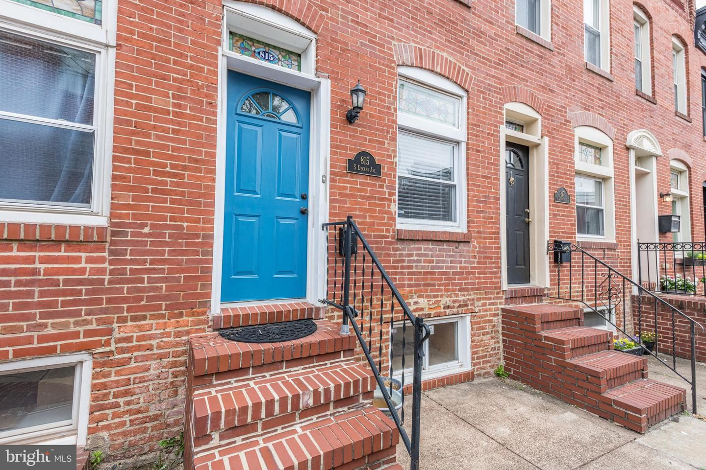 815 S DECKER AVE, Baltimore, MD 21224 - MLS#: MDBA547624