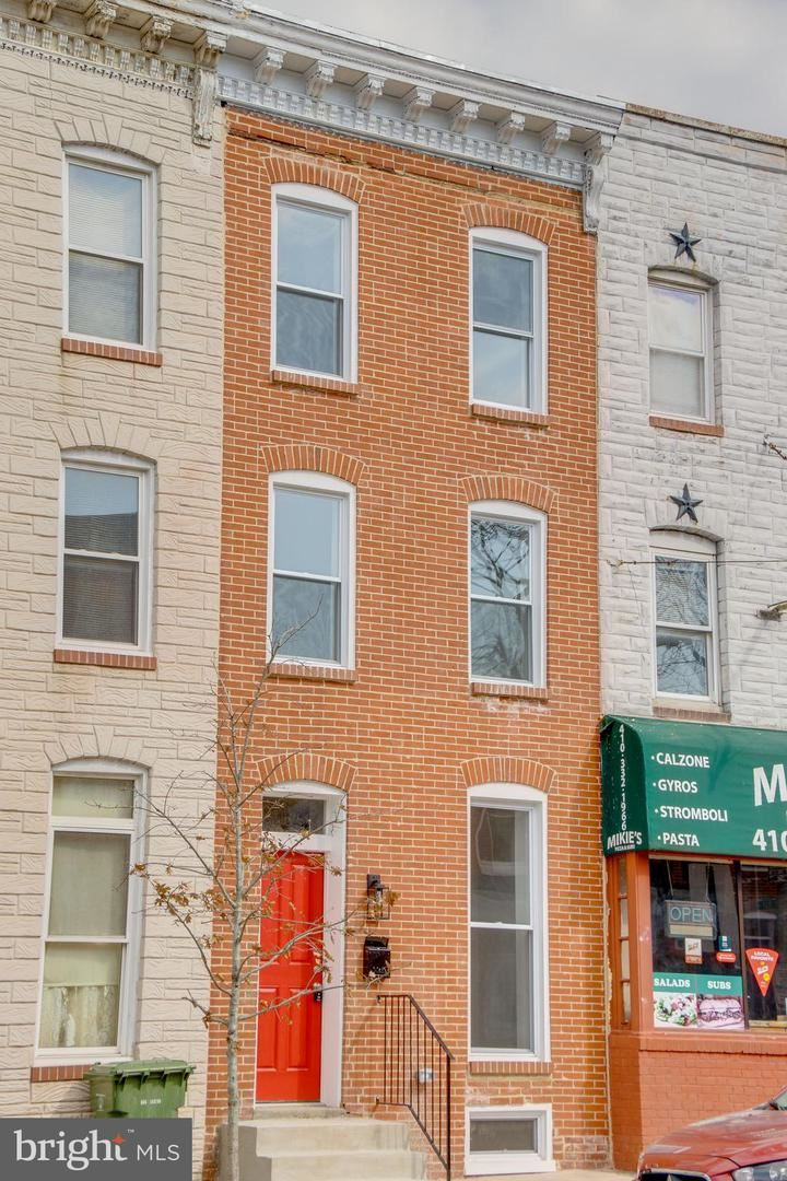 208 E FORT AVE, Baltimore, MD 21230 - MLS#: MDBA541628