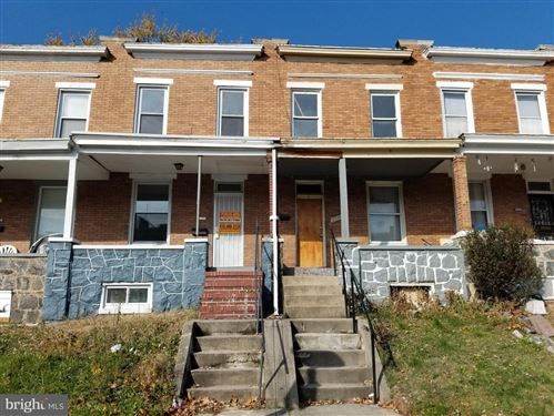 Photo of 2546 AISQUITH ST, BALTIMORE, MD 21218 (MLS # MDBA491636)