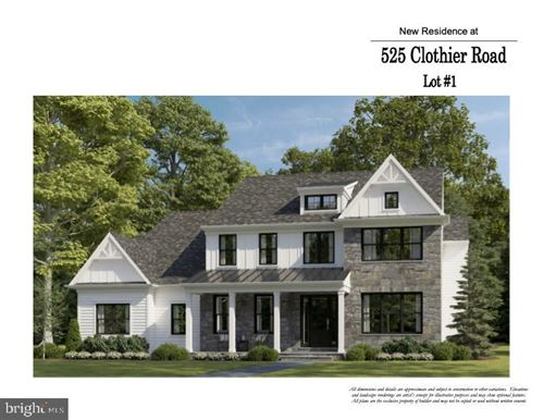 Photo of 525 CLOTHIER RD, WYNNEWOOD, PA 19096 (MLS # PAMC2014646)
