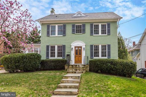 Photo of 4706 HUNT AVE, CHEVY CHASE, MD 20815 (MLS # MDMC694688)