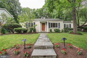 Photo of 4418 COLFAX ST, KENSINGTON, MD 20895 (MLS # MDMC665692)