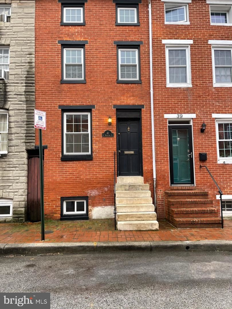 41 E WHEELING ST, Baltimore, MD 21230 - MLS#: MDBA543724
