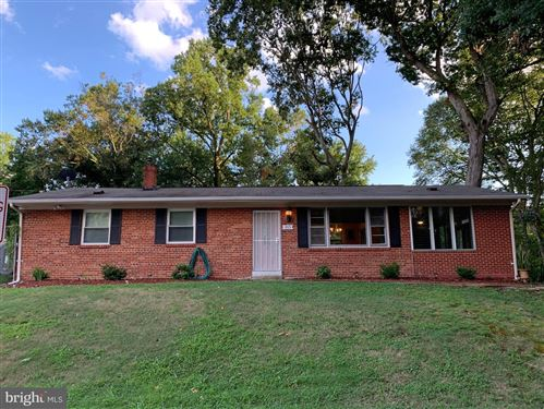 Photo of 1821 KNOLL DR, OXON HILL, MD 20745 (MLS # MDPG576734)