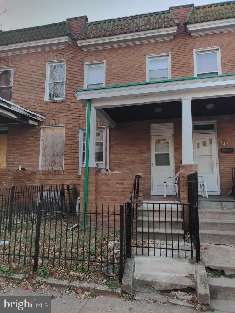 344 S BENTALOU ST, Baltimore, MD 21223 - MLS#: MDBA491740