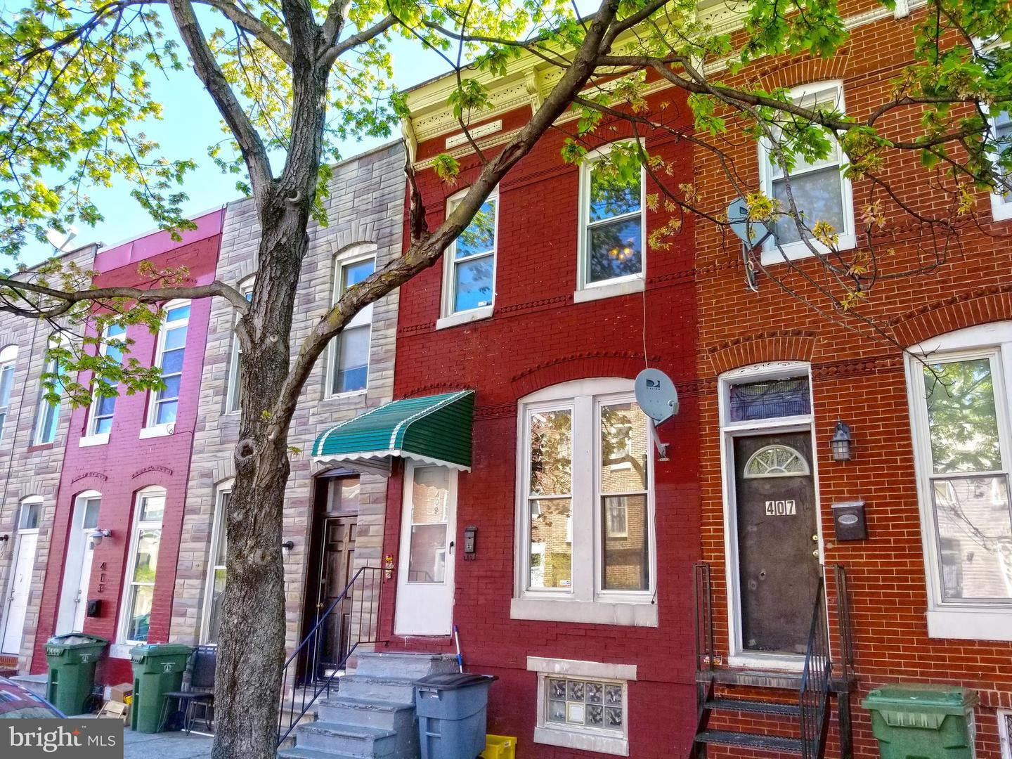409 N CHESTER ST, Baltimore, MD 21231 - MLS#: MDBA547742