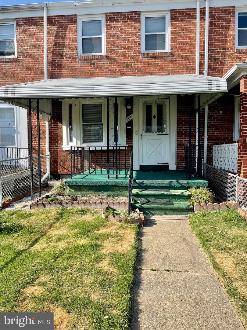 706 MIDDLESEX RD, Baltimore, MD 21221 - MLS#: MDBC527766