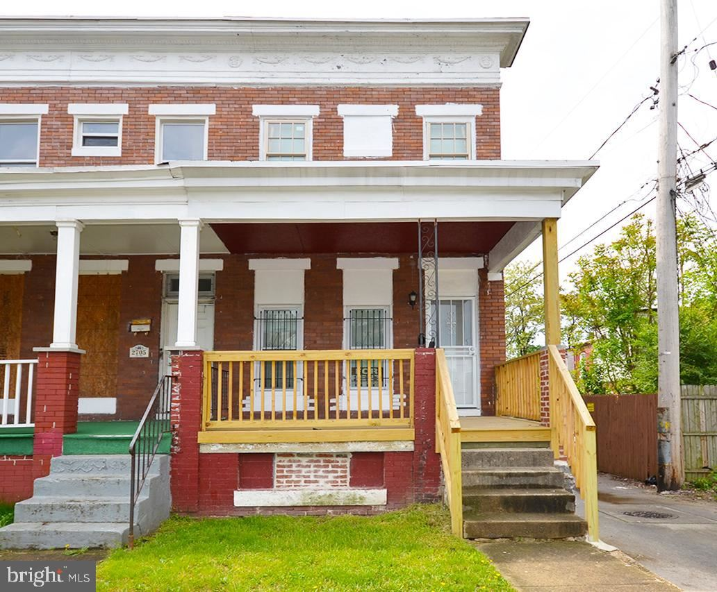 2707 WESTWOOD AVE, Baltimore, MD 21216 - MLS#: MDBA546778