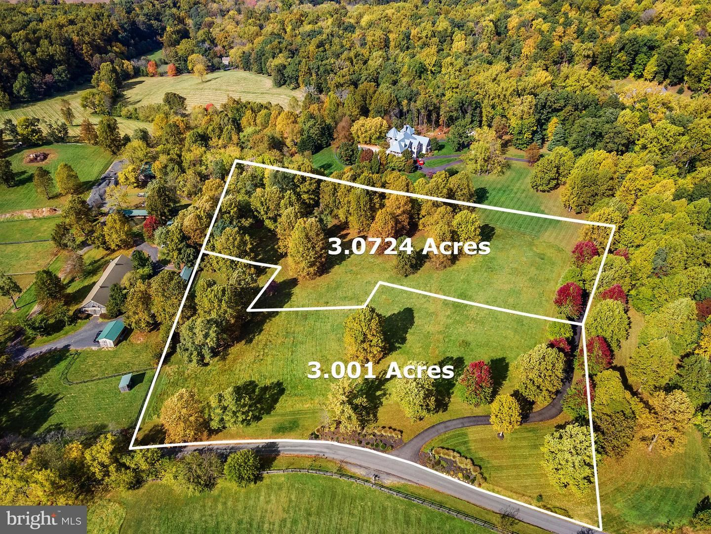 Photo of HURLEY LANE - 3.07AC PARCEL, PAEONIAN SPRINGS, VA 20129 (MLS # VALO423778)
