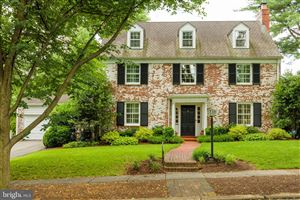 Photo of 3810 BLACKTHORN ST, CHEVY CHASE, MD 20815 (MLS # MDMC665792)