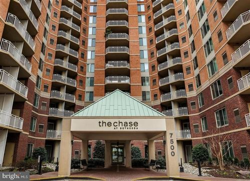 Photo of 7500 WOODMONT AVE #S608, BETHESDA, MD 20814 (MLS # MDMC751794)