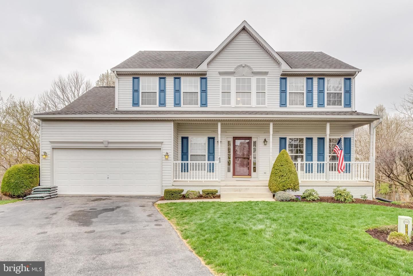 43 PUTTERS CT, Martinsburg, WV 25405 - #: WVBE175794
