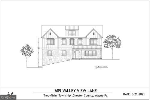 Photo of 689 VALLEY VIEW LN, WAYNE, PA 19087 (MLS # PACT2006802)