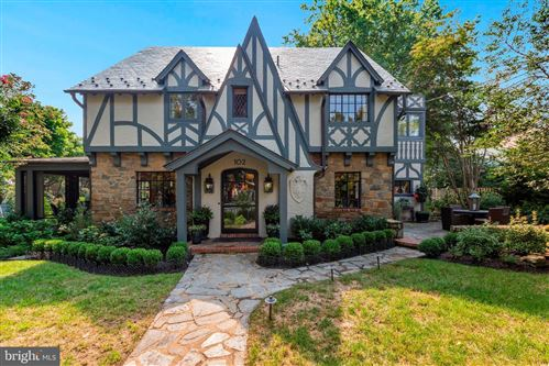 Photo of 102 OXFORD ST, CHEVY CHASE, MD 20815 (MLS # MDMC726804)