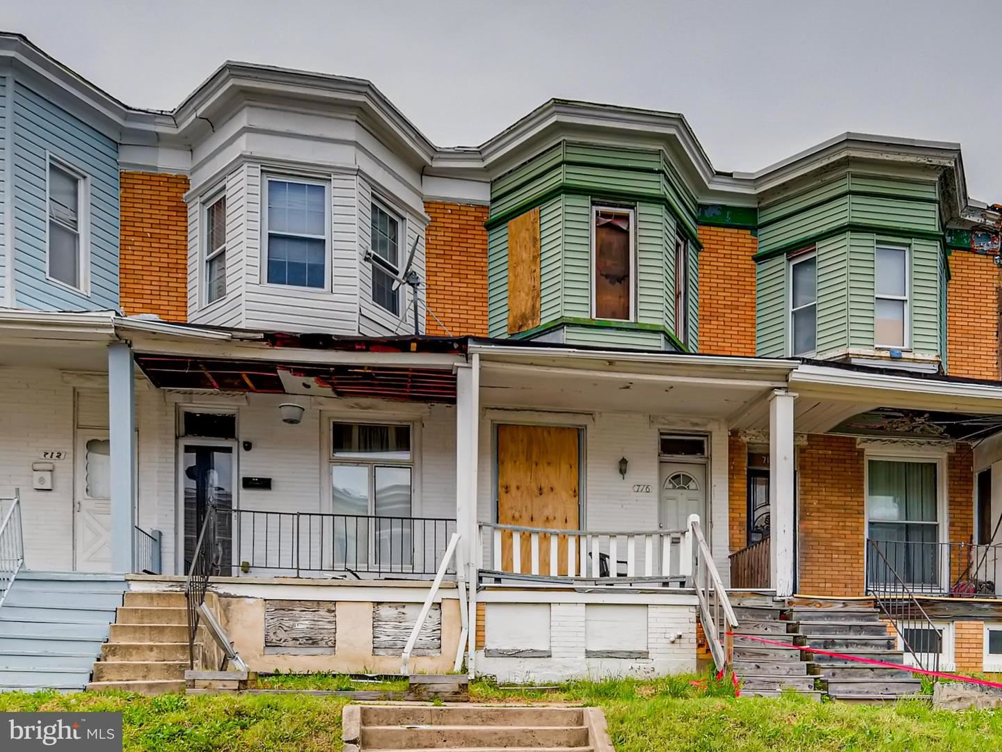 716 E 23RD ST, Baltimore, MD 21218 - MLS#: MDBA550808