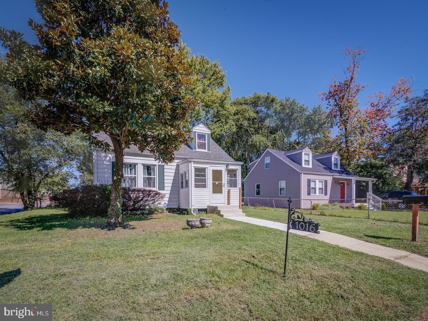 Photo for 1016 JACKSON ST, ANNAPOLIS, MD 21403 (MLS # MDAA471818)