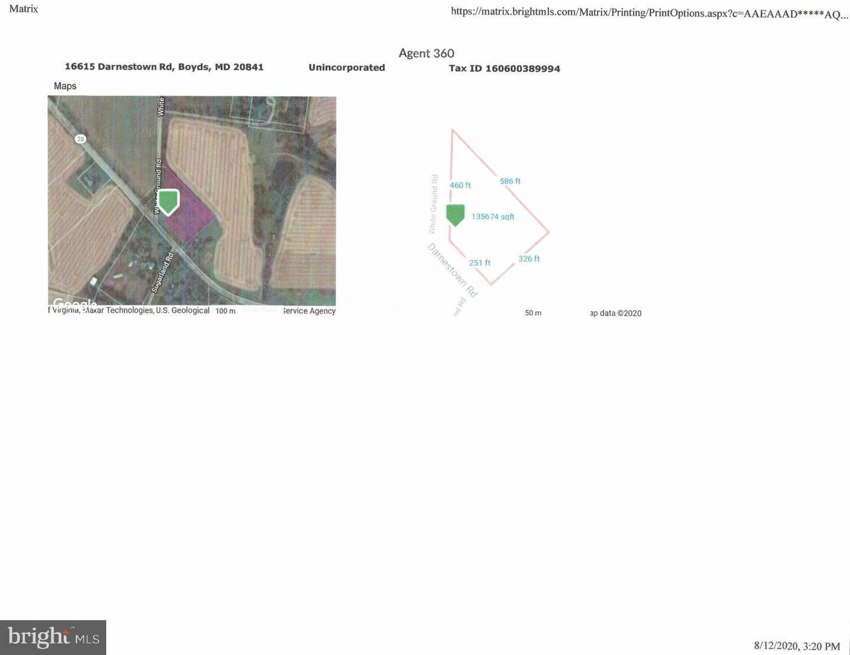 Photo of 16615 DARNESTOWN RD, BOYDS, MD 20841 (MLS # MDMC720822)