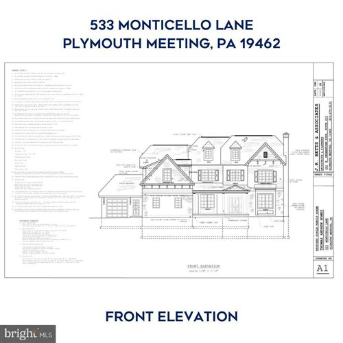 Photo of 533 MONTICELLO LN, PLYMOUTH MEETING, PA 19462 (MLS # PAMC683840)