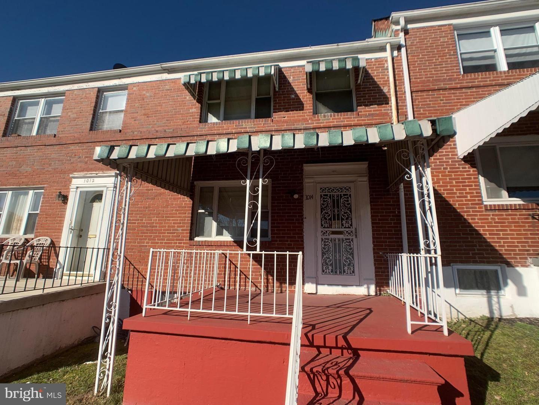 1014 MOUNT HOLLY ST, Baltimore, MD 21229 - MLS#: MDBA545848