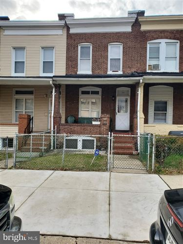 Photo of 1629 MONTPELIER ST, BALTIMORE, MD 21218 (MLS # MDBA493856)
