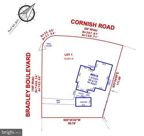 Photo of 5512 CORNISH RD, BETHESDA, MD 20814 (MLS # MDMC739856)