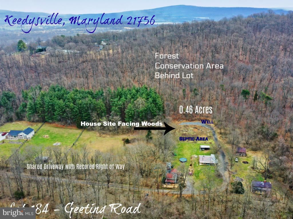 Photo of LOT 184 GEETING RD, KEEDYSVILLE, MD 21756 (MLS # MDWA169864)