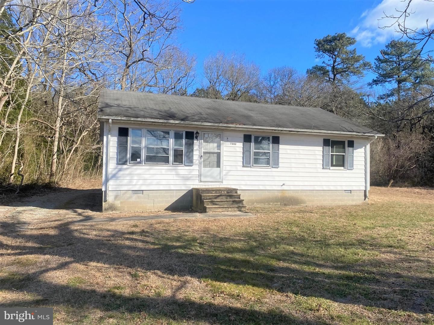 Photo for 7242 SHOCKLEY RD, SNOW HILL, MD 21863 (MLS # MDWO119896)