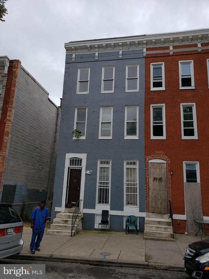 1413 MOSHER ST, Baltimore, MD 21217 - #: MDBA481904
