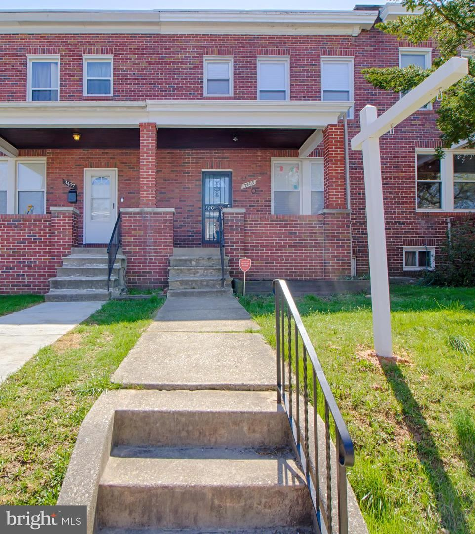 3405 CLIFTMONT AVE, Baltimore, MD 21213 - MLS#: MDBA544948