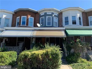 Photo of 1627 N SMALLWOOD ST, BALTIMORE, MD 21216 (MLS # MDBA487954)
