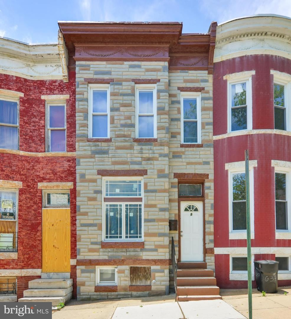 8 S PAYSON ST, Baltimore, MD 21223 - #: MDBA513960