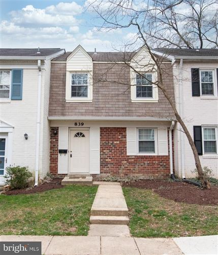 Photo of 839 AZALEA DR #28, ROCKVILLE, MD 20850 (MLS # MDMC700962)