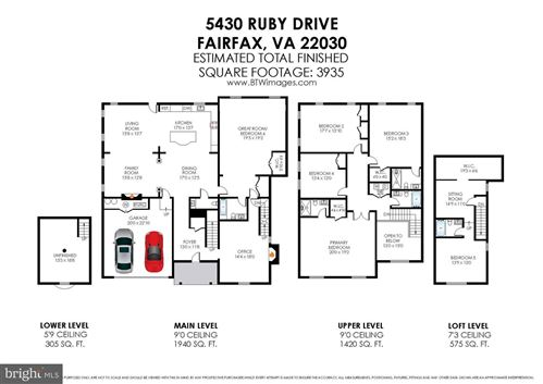 Tiny photo for 5430 RUBY DR, FAIRFAX, VA 22030 (MLS # VAFX1175970)