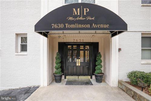 Photo of 7630 TOMLINSON AVE #L-16, CABIN JOHN, MD 20818 (MLS # MDMC751984)