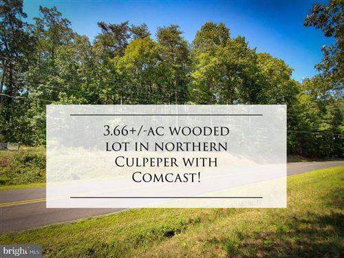 Photo of ALUM SPRINGS, CULPEPER, VA 22701 (MLS # VACU2000992)