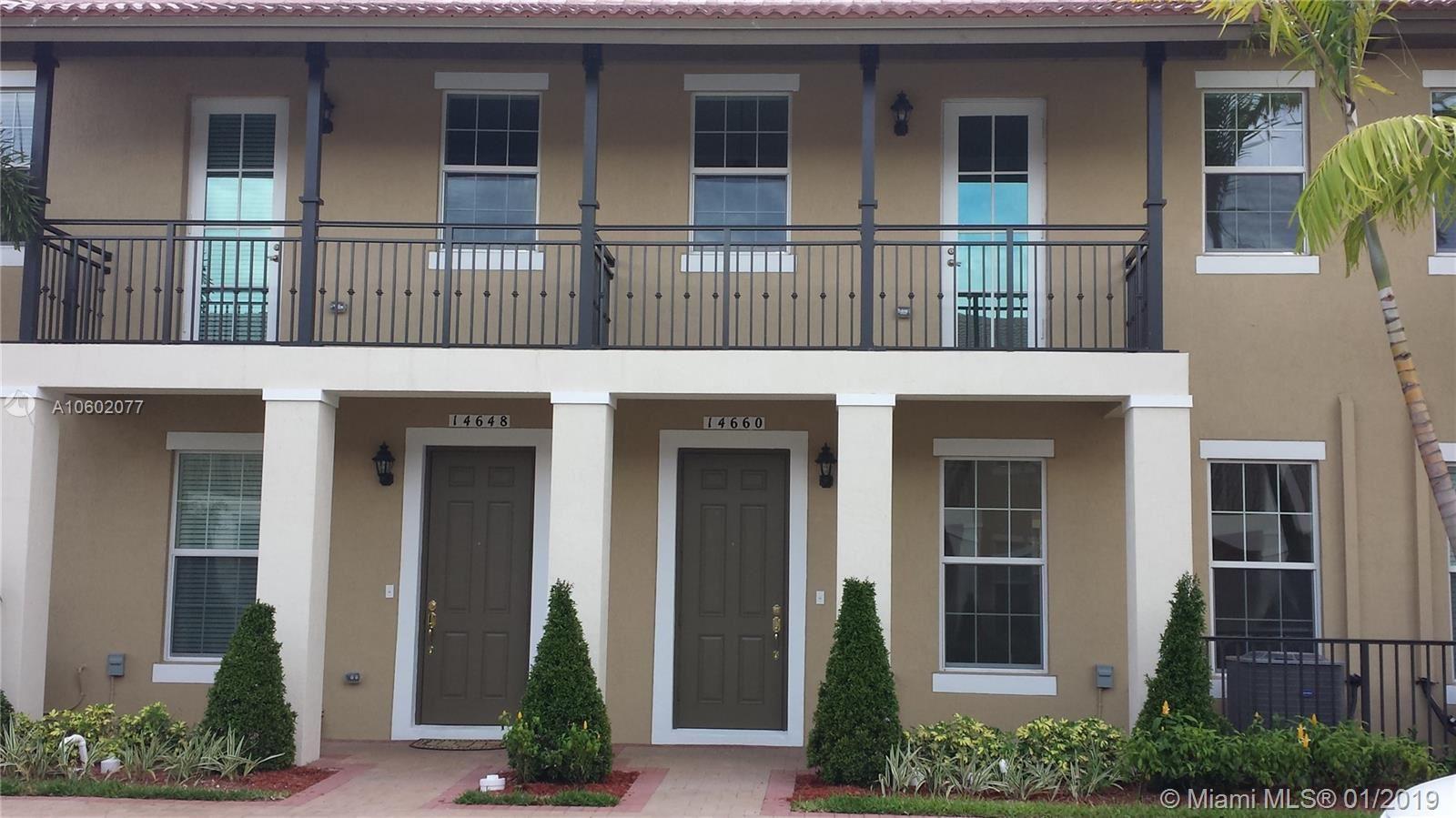 14660 SW 14th St #14660, Pembroke Pines, FL 33027 - MLS#: A10602077